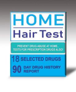 Macujo method home hair test kit for hair drug testing